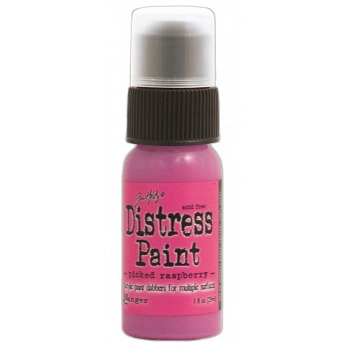 Tim Holtz distress paint picked raspberry