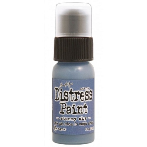 Tim Holtz distress paint stormy sky