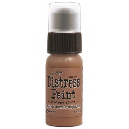 Tim Holtz distress paint vintage photo