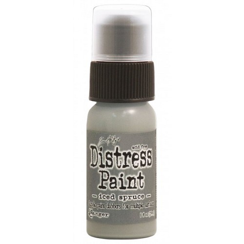 Tim Holtz distress paint iced spruce
