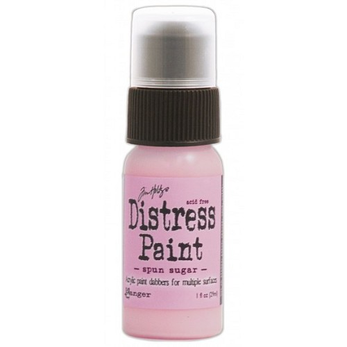 Tim Holtz distress paint spun sugar