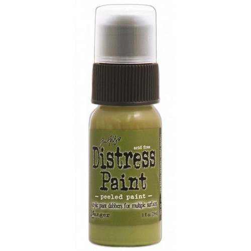 Tim Holtz distress paint peeled paint