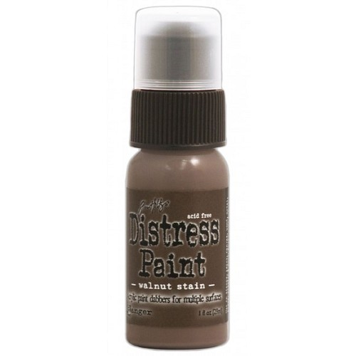 Tim Holtz distress paint walnut stain