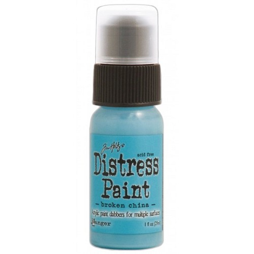 Tim Holtz distress paint broken china