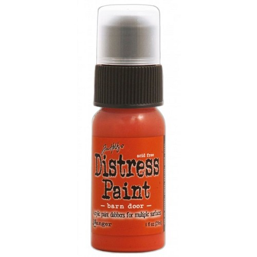 Tim Holtz distress paint barn door