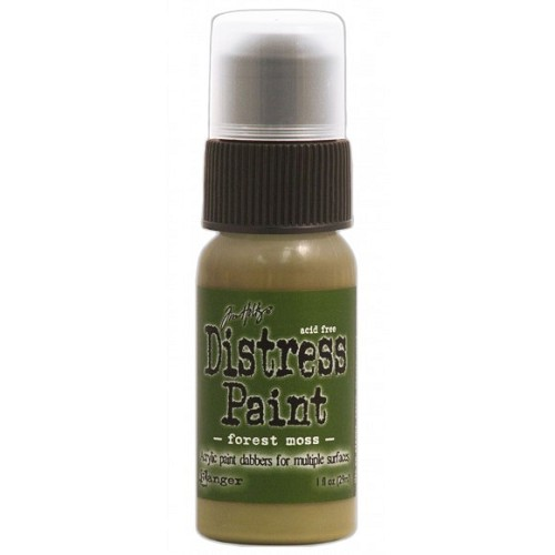 Tim Holtz distress paint forest moss