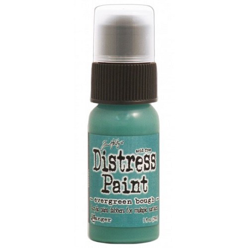 Tim Holtz distress paint evergreen bough
