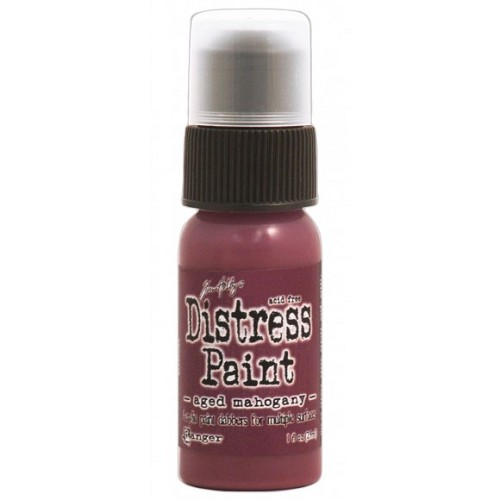 Tim Holtz distress paint aged mahogany