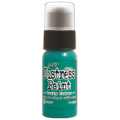 Tim Holtz distress paint lucky clover