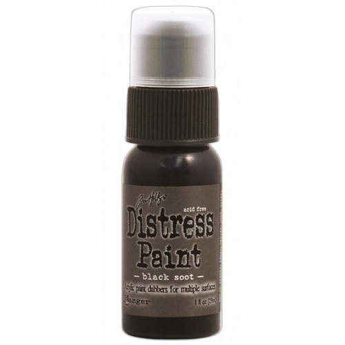 Tim Holtz distress paint black soot