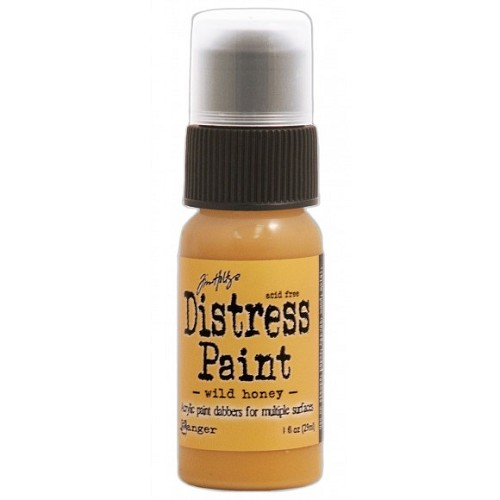 Tim Holtz distress paint wild honey