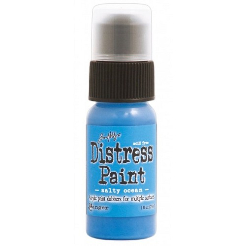 Tim Holtz distress paint salty ocean