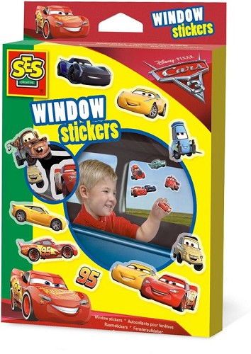 SES Raamstickers Cars 3
