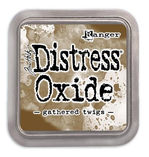 Distress Oxide - gathered twigs