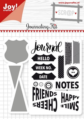 Joy! stempel met mal journaling kit