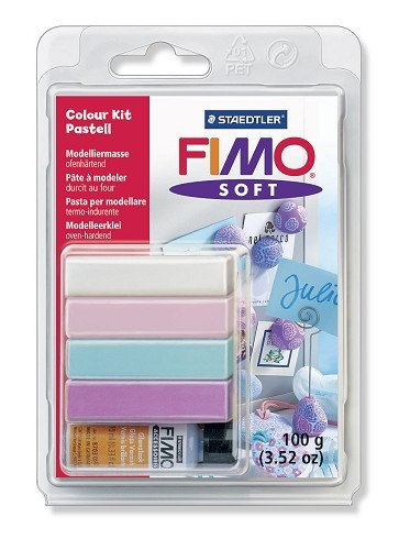 Fimo soft Colour Kit - Pastell