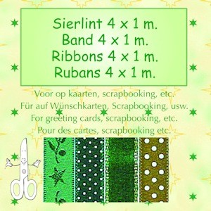 Lint assortiment green