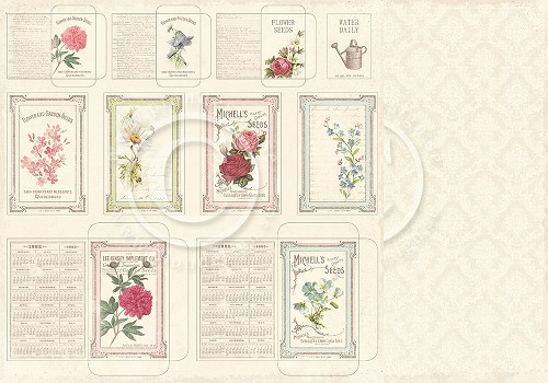 Seed packets - Vintage Garden