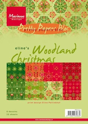 Pretty Papers bloc Eline`s Woodland Christmas