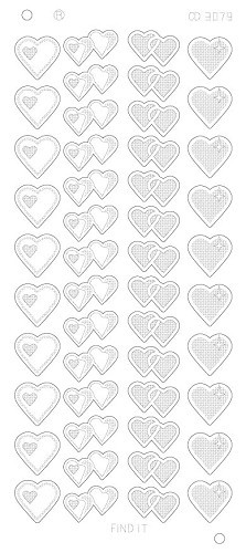 Hearts Various Platinum