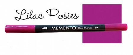 Marker Memento Lilac posies