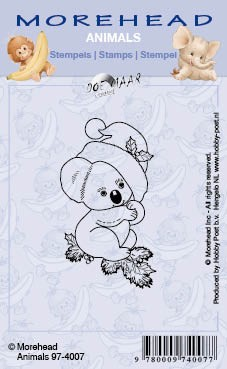 Clearstamp Morehead, Animals, Koala Kerst