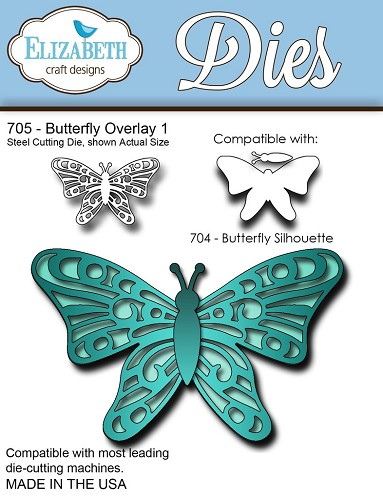 Steel Cutting Die Butterfly Overlay 1