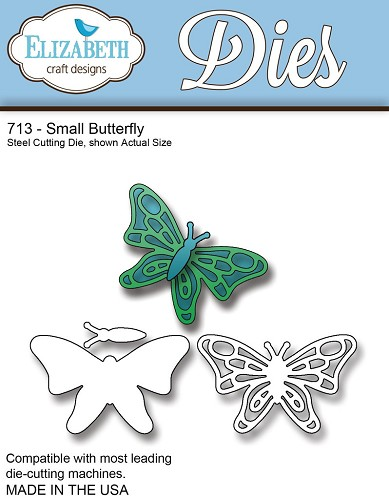 Steel Cutting Die Small Butterfly
