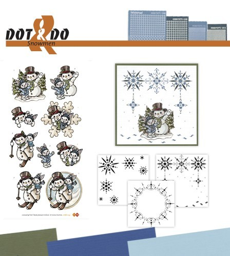Dots & Do 24 - Snowmen