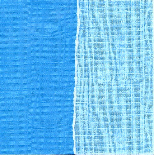 Cardstock blue lightening