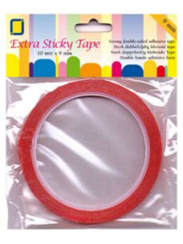 Extra sticky tape 9 mm