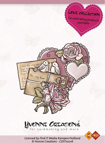 Yvonne Creations - Stamps - Love - Heart