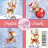 Wild Rose Studio`s Printed panels Reindeer