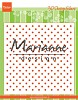 3D Design folder polka dots
