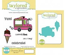 Taylored Expressions Summer Love Stamp & Die Combo